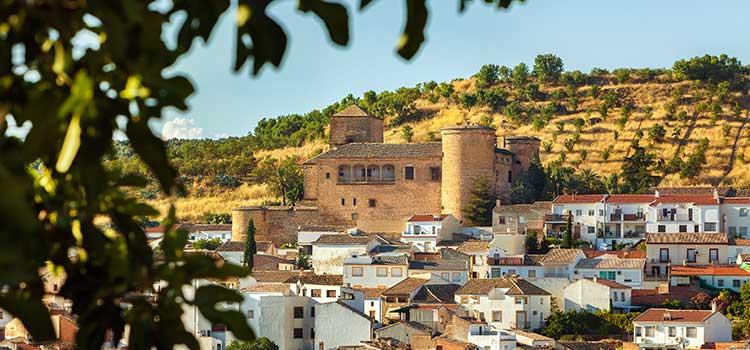 Exterior Castillo de Canena